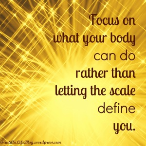 focus on what your body can do