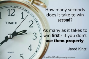 seconds to win