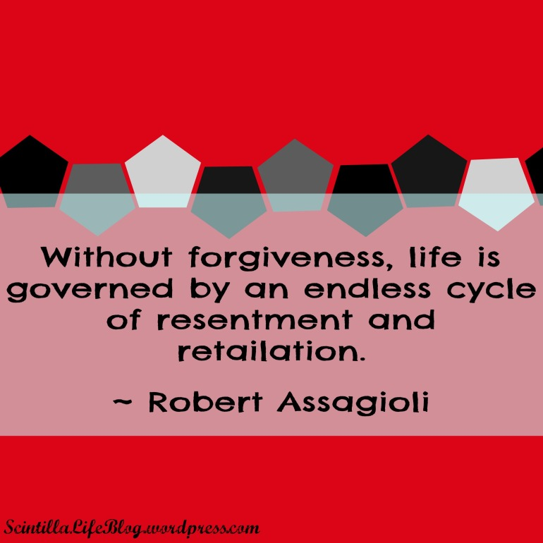 Without forgiveness life is governed by an endless cycle of resentment and retaliation.